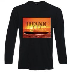 Titanic Gold Long sleeved T-shirt