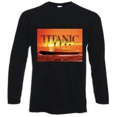 Titanic Gold Long sleeved T-shirt