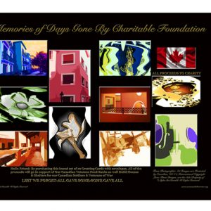 Box Set of Artistic Greeting Cards Canadian S.O.W.