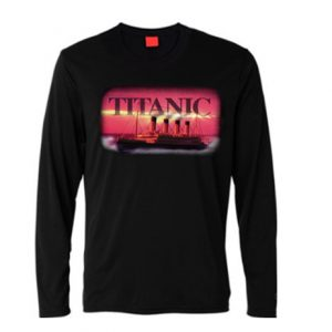 Titanic Pink Long sleeved T-shirt
